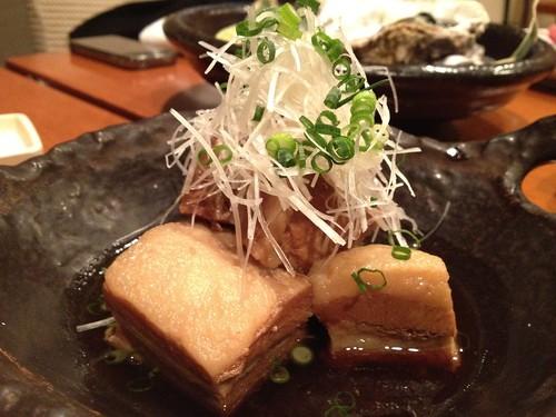 あぐー豚の角煮@酒菜(銀座・新橋)