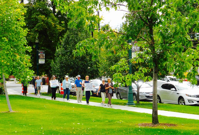 Boise,ID CNV 2016 Silent Walk Opposing the Death penalty