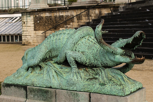 Le Crocodile et le Serpent, Emile Namur