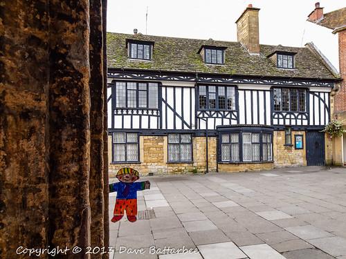 Flat Stanley visits Sherborne