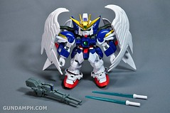 SDGO Wing Gundam Zero Endless Waltz Toy Figure Unboxing Review (9)