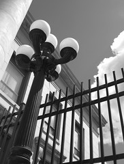 Courthouse Lamp Post