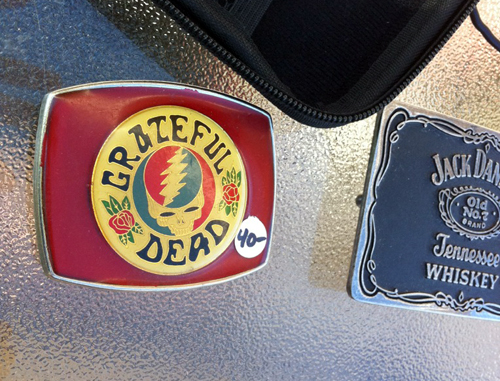 Grateful Dead belt buckle