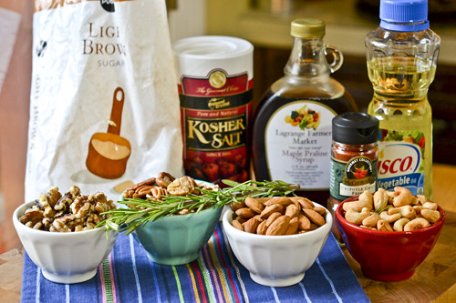 Chipotle & Rosemary Roasted Nuts 19