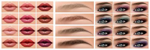 Ginevra Skin (All Make-Ups)