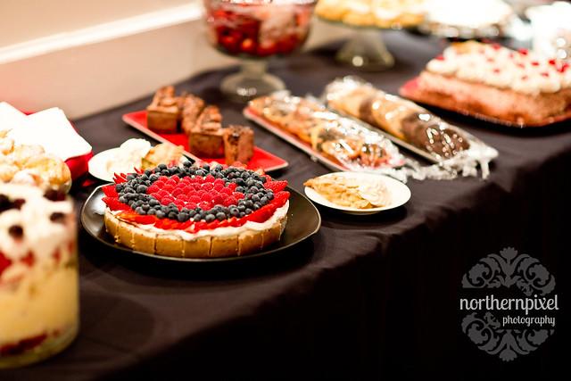 Reception Desert Table