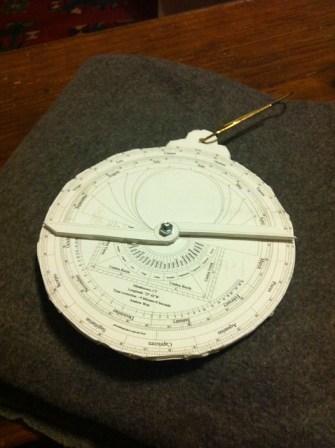 Fifth Astrolabe Recto