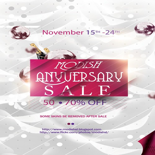 __Modish__ Aniversary SKINS SALE! UP TO 70% OFF