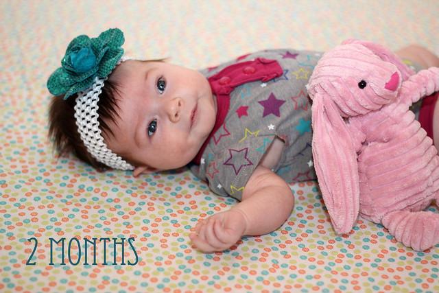 Harper at 2 months