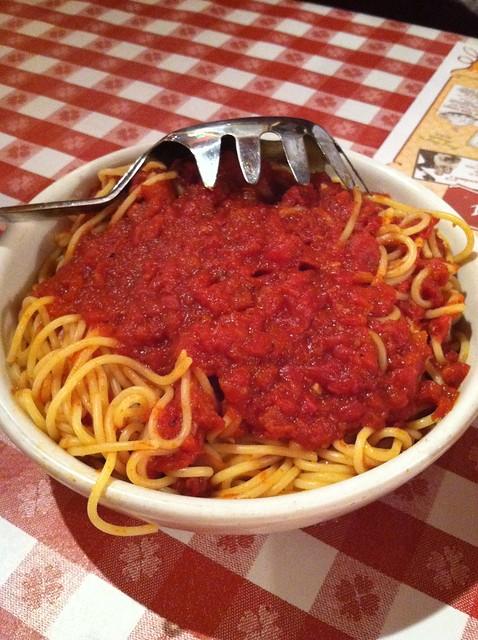 Buca di Beppo Spaghetti