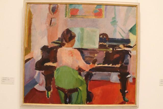 La femme au piano