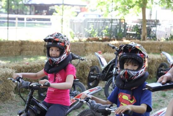 dirt biking kids