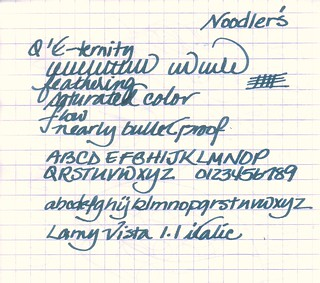 Noodler's Q'E-ternity Ink
