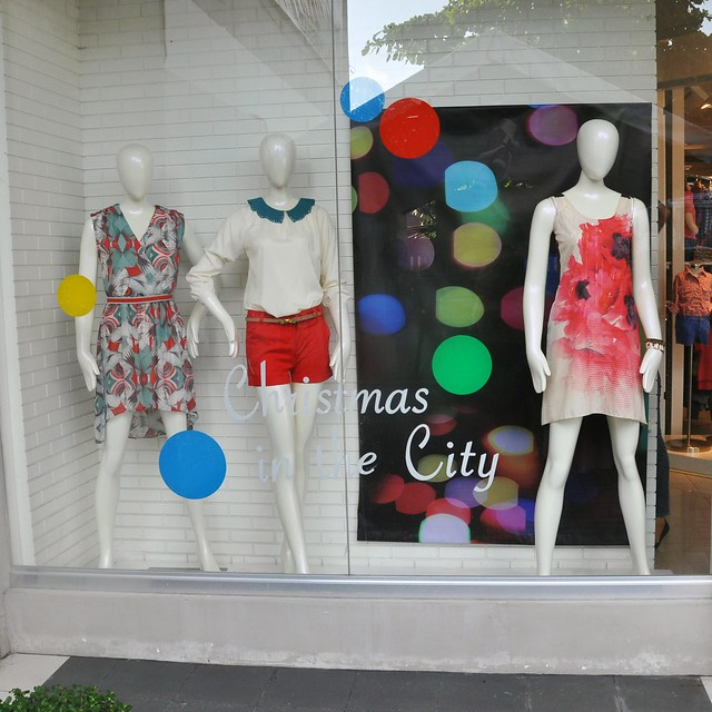 Red Dot Window Display