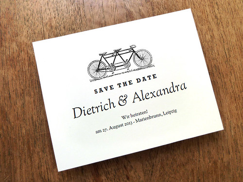Save The Date - Tandem