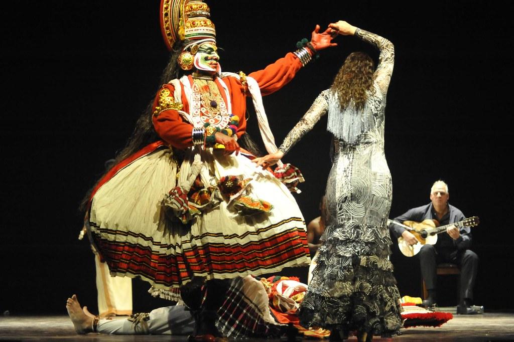 Diaf - Flamenco and Kathakali - Dushyasana Vadham
