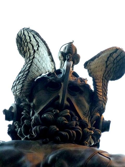 Florence - jour 1 - 103 - Piazza della Signoria - Loggia dei Lanzi - Persée par Benvenuto Cellini
