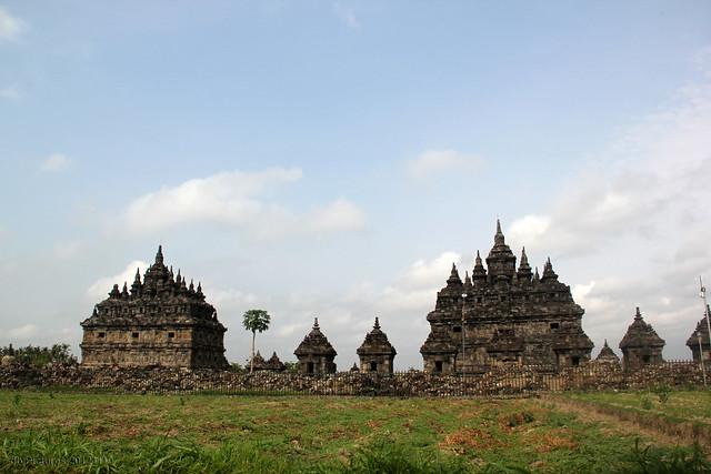 Plaosan Temple View