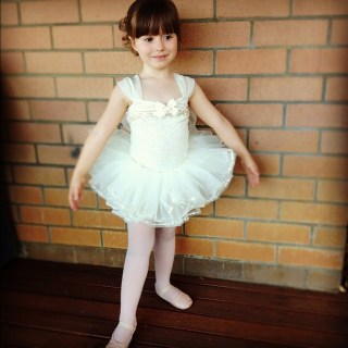 My biggest ballerina...