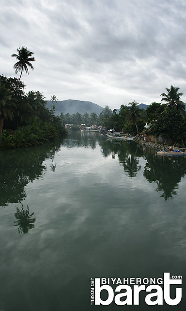 river between baranggay sabang and poblacion baler aurora