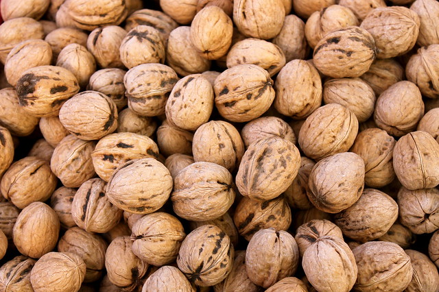 Nut pile