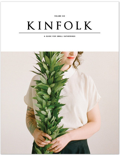 Kinfolk 6 by the little dröm store