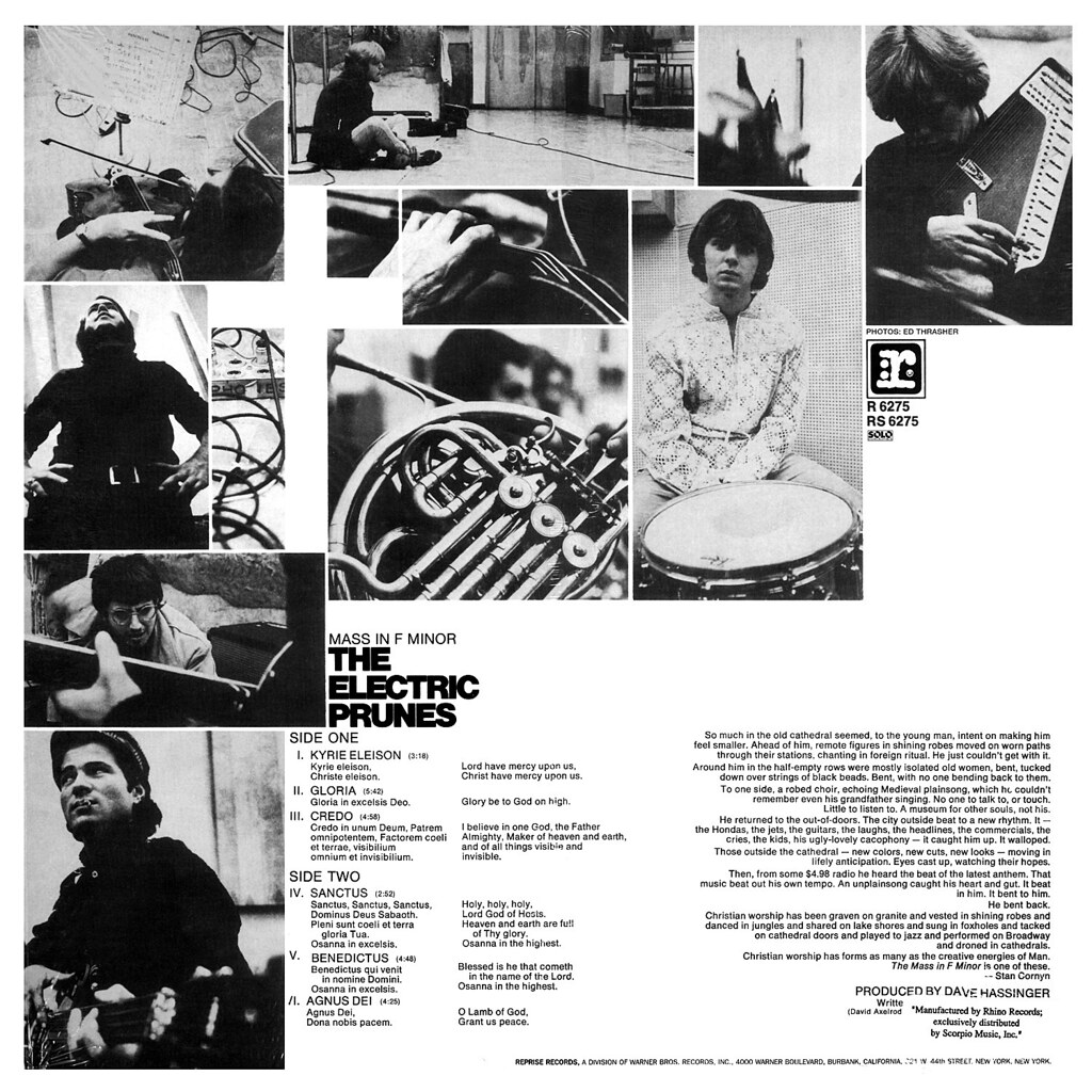 The Electric Prunes - Mass in F Minor