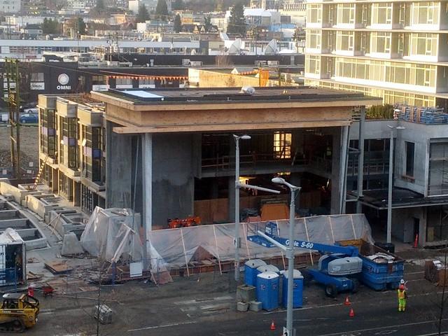 New Theatre Under Construction