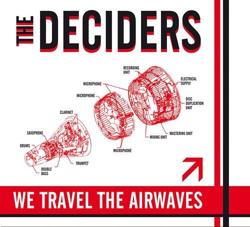 Cover - The Deciders - We travel the airwaves by Karstein Volle