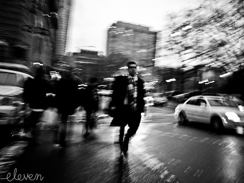Blurry Memory ~ by Eleven ~ NYC~ on and off