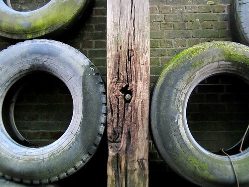 Tyres and wood
