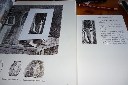 copying morandi