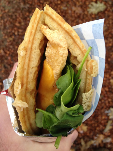 waffle food cart portland
