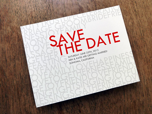 Save The Date - Love And Happiness