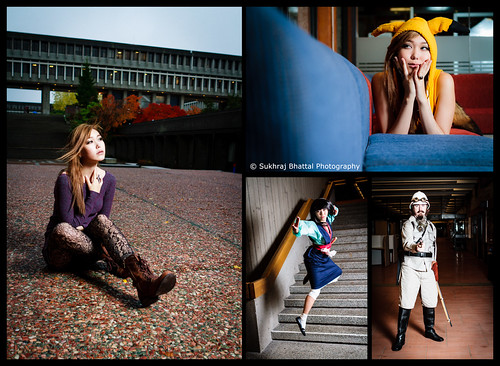 Day 674 - The SFU Photoshoot and a Bit of Anime Evolution by SukhrajB