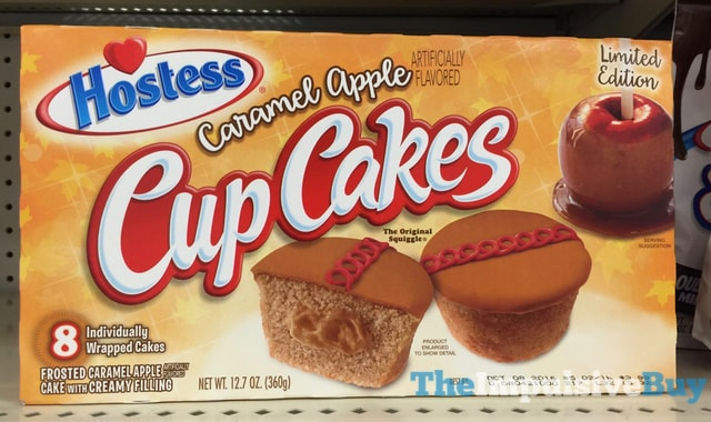 Hostess Limited Edition Caramel Apple Cup Cakes