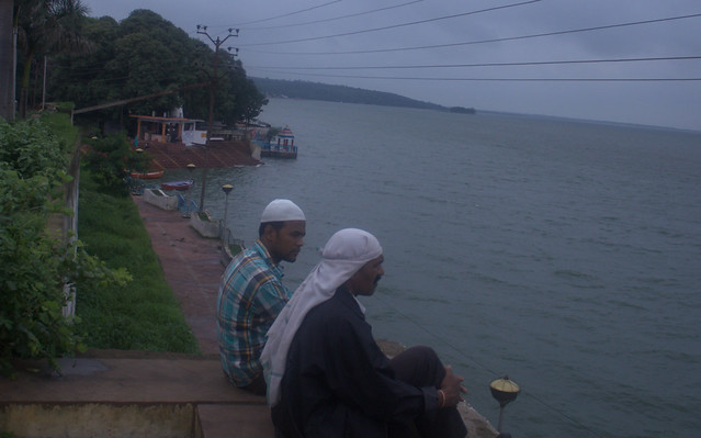 Men overlooking Uppar Lake