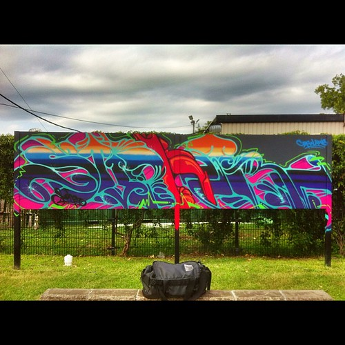 Finally found this one in my album #supher #mtn #mtncolors #rtd #laws #lawscrew #creatures #cbs #cbscrew #houston #skatepark #houstonskatepark #2012 #graffiti #graff by supher.com