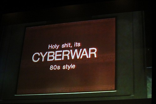 Cyberwar 80s style by 4nitsirk