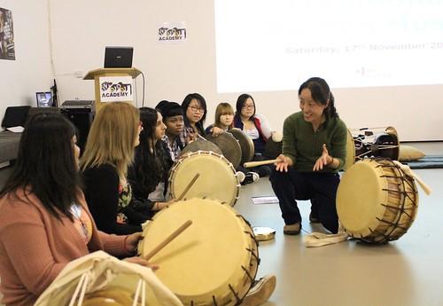 Puk, A Traditional Korean Drum