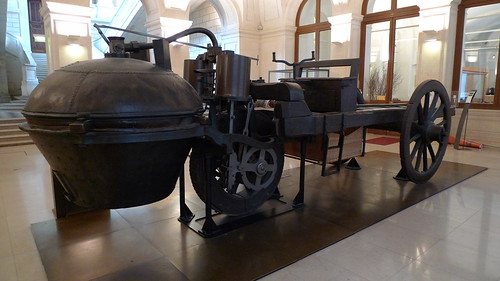 Cugnot steam car