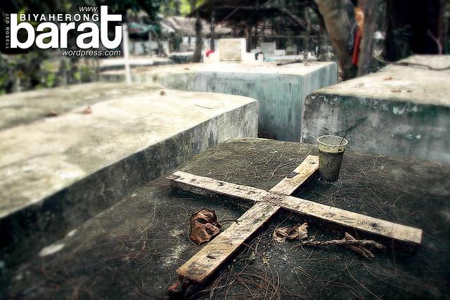 Cagbalete Island Quezon province cemetery