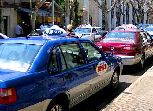 Taxi in Shanghai