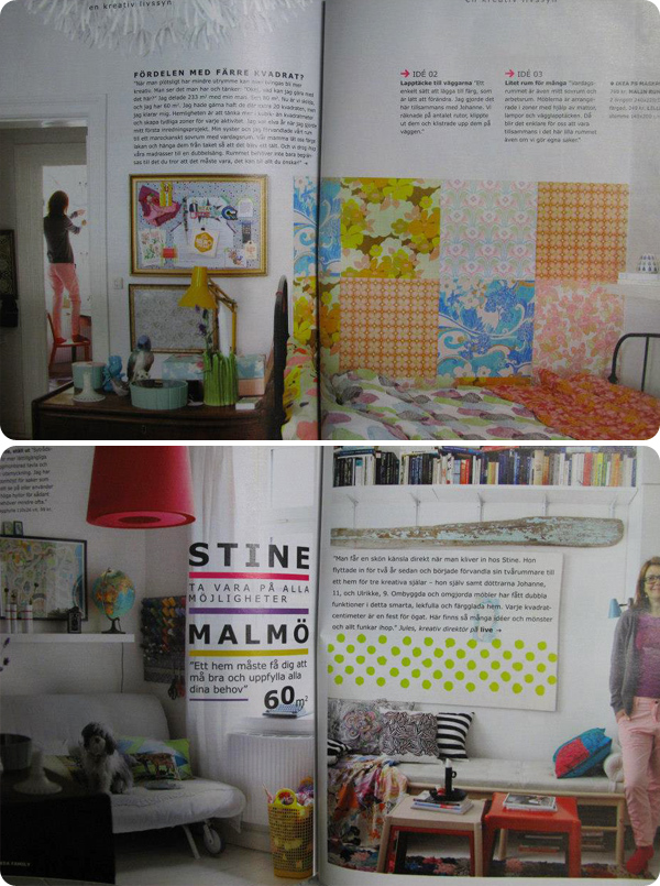 Lula's bazaar's home in IKEA live winter 2012