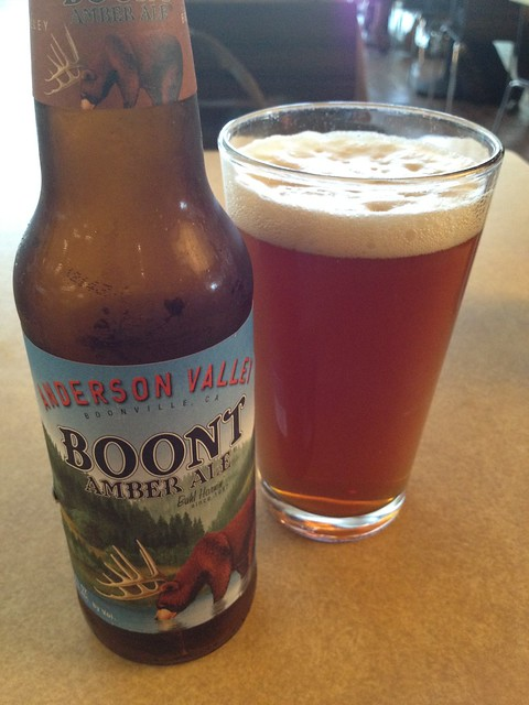 Boont amber ale - Lark Creek Grill