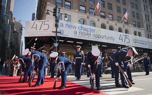 121111-170 NYC Veterans Day Parade by US Coast Guard Academy