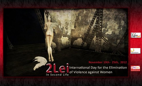 2Lei 2012 - International Day for the Elimination of Violence against Women from 19th to 25th November by La Baroque