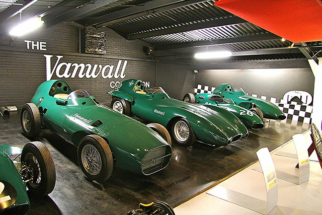 The Vanwall Collection as part of the Donington Collection
