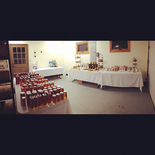All set (mostly) for tomorrow's Open House