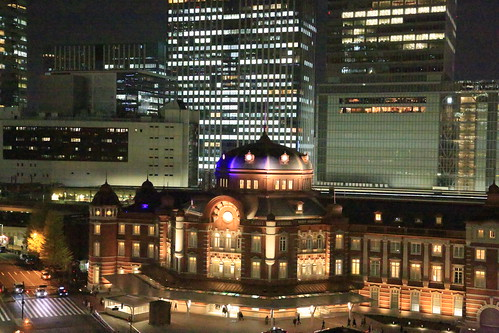 New Old Tokyo Station Night View (test ISO51200)